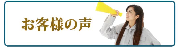 お客様の声 カビ除去用洗浄剤・サビ汚れ除去用洗浄剤・油汚れ除去用洗浄剤・木部洗浄剤・石材洗浄剤